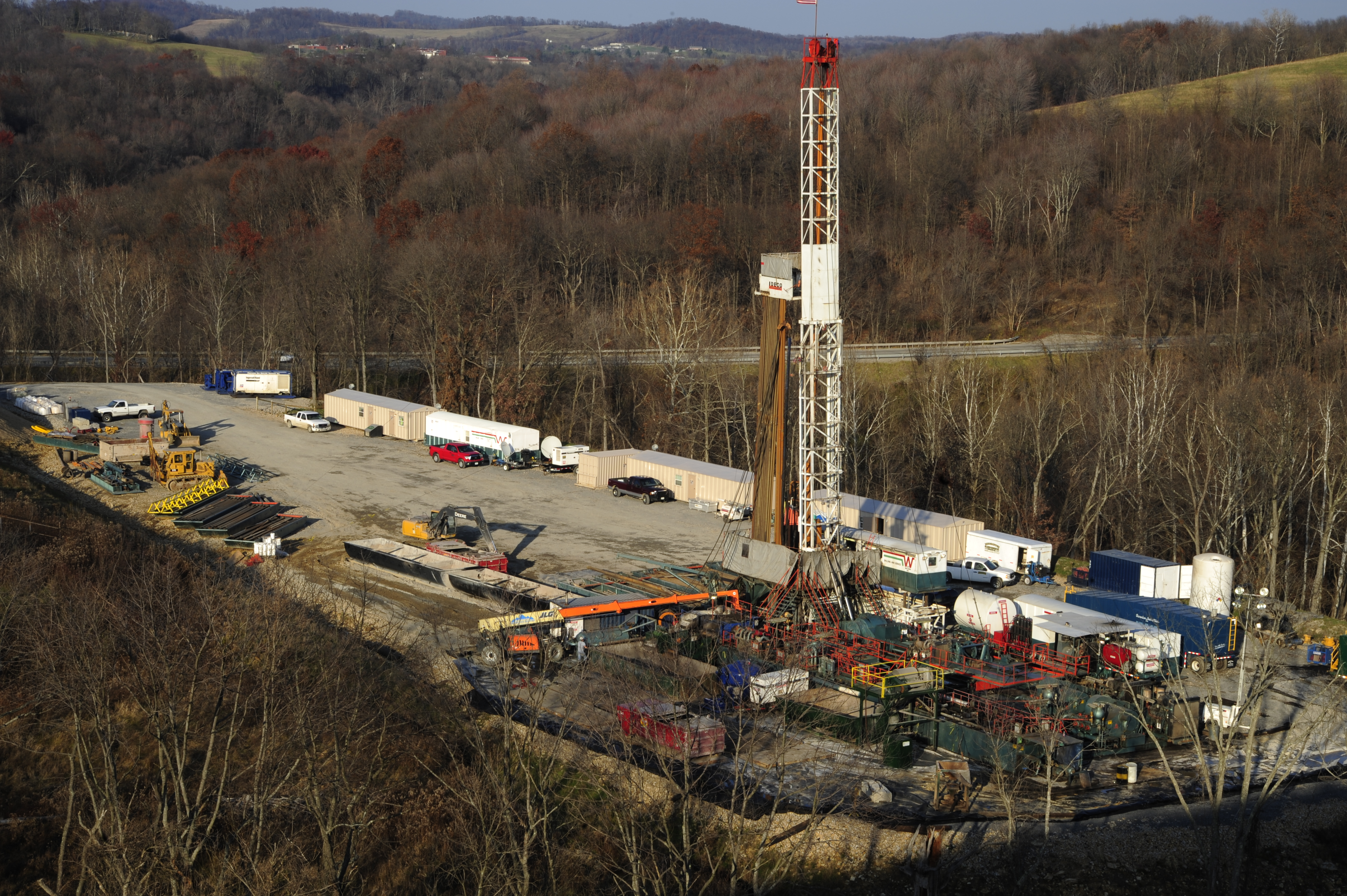 Drilling For Natural Gas Fracking