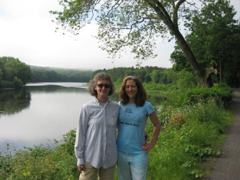 Upper Delaware River in Milford, PA