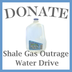Shale Gas Outrage water drive